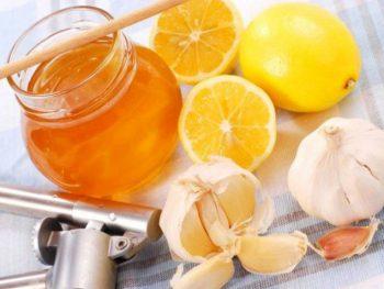 очищение сосудов лимоном и чесноком рецепт
