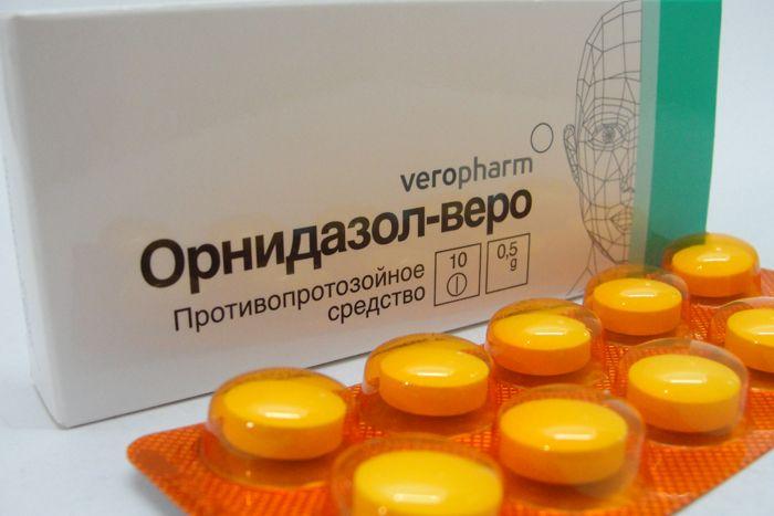 Орнидазол веро инструкция