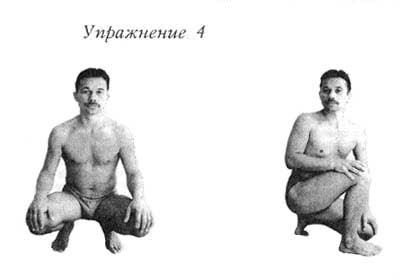 Четвертое упражнение Шанк Пракшаланы