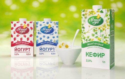 йогурты и кефир